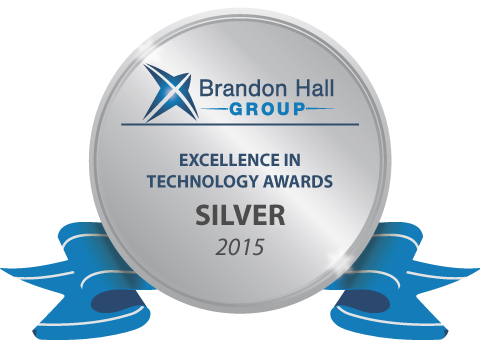 Silver Brandon Hall Excellence in Learning Technology for Best Advance in Learning Management System
