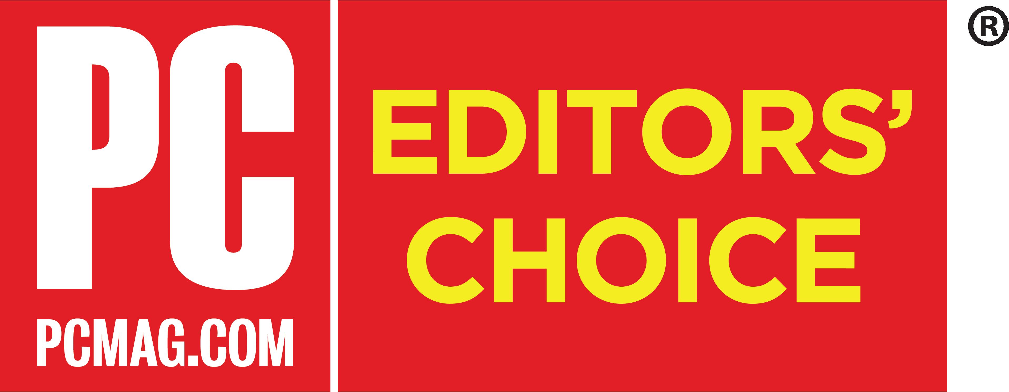 PCMag's Editors' Choice