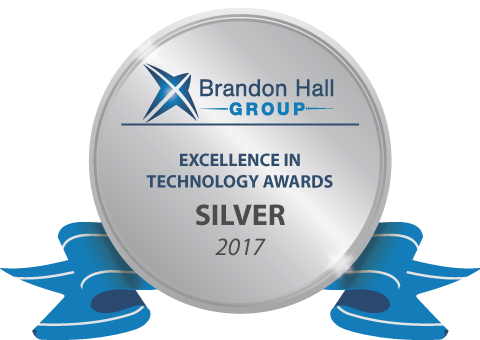 Silver Brandon Hall Excellence for Best Advance in Sales Training Online Application
