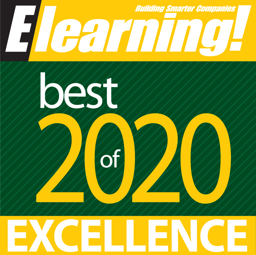 Best of Elearning! Learning Management System - Cloud or Enterprise Award of Excellence