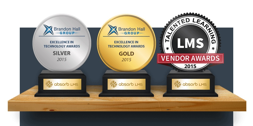 Absorb LMS Wins Several Awards!