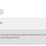Absorb LMS: Providing Learner Rankings as a Resource