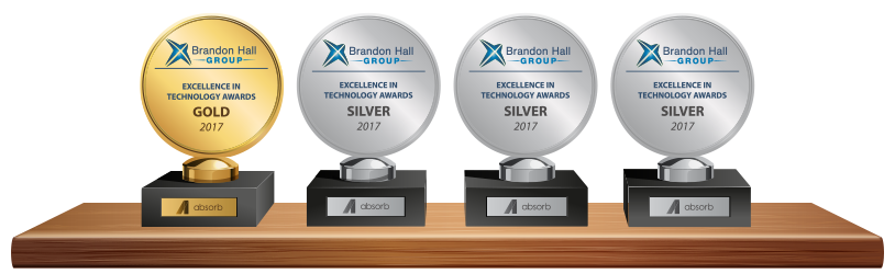 Absorb LMS wins Brandon Hall Awards