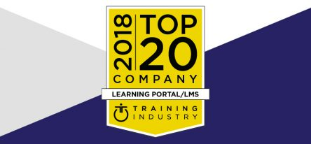 Training Industry top 20 award 2018