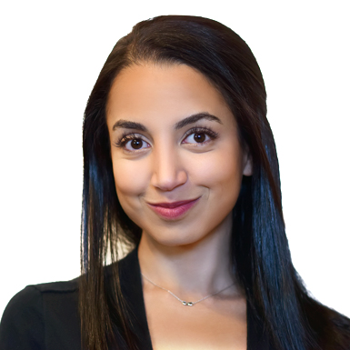 Head shot of Heba Musa, Vice President of Finance at Absorb Software