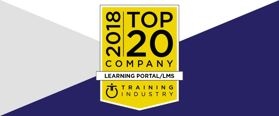Training Industry top 20 award 2018